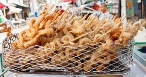 街道食物在菲律宾 库存照片
