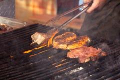 街道食物节日阿尔巴尤利亚 图库摄影