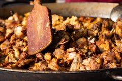 街道食物节日阿尔巴尤利亚 库存照片