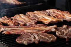 街道食物节日阿尔巴尤利亚 库存图片