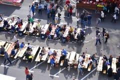 街道食物节日 免版税库存图片