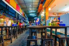 街道食物餐馆 库存照片
