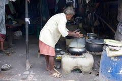 街道食物,加尔各答,印度 库存图片