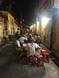街道食物 免版税库存图片