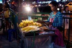 街道食物 免版税图库摄影