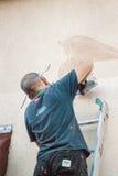 街道画做 免版税图库摄影
