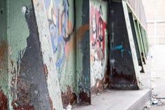 街道画和铁锈 图库摄影