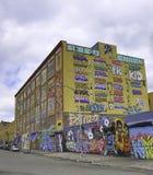 街道画在纽约城 库存图片
