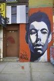 街道画在纽约城 免版税库存照片