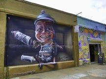 街道画在纽约城 向量例证