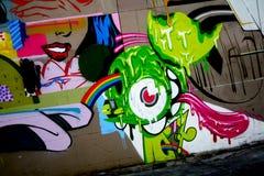 街道画在里士满弗吉尼亚 免版税图库摄影