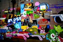 街道画在里士满弗吉尼亚2 库存图片