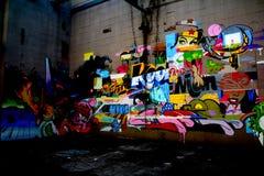 街道画在里士满弗吉尼亚 免版税库存照片
