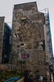 街道画在巴黎 图库摄影