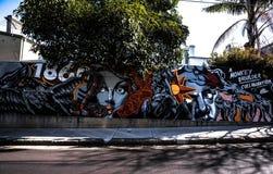 街道画摄影 库存图片