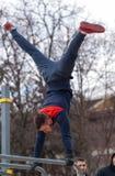 街道锻炼地方 免版税库存照片