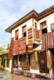 街道购物在安塔利亚,土耳其 库存图片