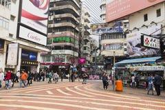 街道建筑学生活和人 图库摄影