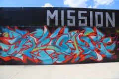 街道画艺术在东部威廉斯堡在布鲁克林 库存图片