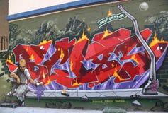 街道画艺术在更低的东边在曼哈顿 库存图片