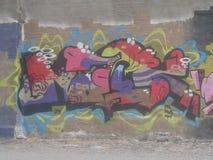 街道画艺术 免版税库存图片