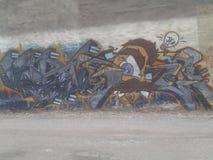 街道画艺术 免版税库存照片