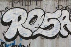 街道画都市艺术要素 库存照片