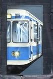 街道画,德国 免版税库存图片
