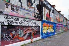 街道画,德国 免版税库存照片