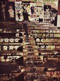 街道画 库存照片
