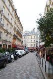 巴黎街道 库存照片