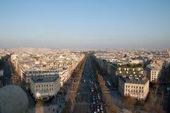 巴黎街道 免版税图库摄影