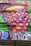 街道画 免版税库存照片