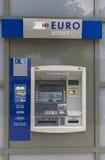 街道bankomat 免版税图库摄影