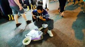街道Music†‹ians†‹in†‹Chiang†‹mai†‹泰国 库存照片