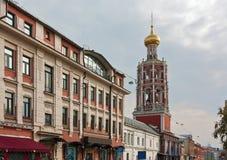街道Petrovka在莫斯科 库存照片