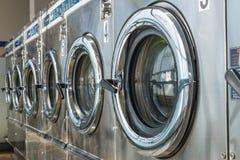洗衣店机器 免版税库存图片