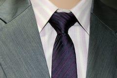 衣服和领带 免版税库存图片