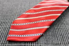 衣服片断和领带 库存图片
