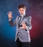 年轻魔术师 免版税库存图片