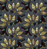 衣服饰物之小金属片无缝的传染媒介样式 没有梯度 免版税库存照片