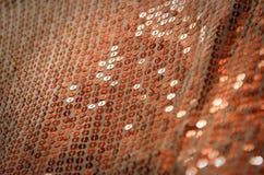 衣服饰物之小金属片时尚纹理 库存照片