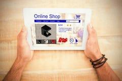 洗衣机的综合图象在网页显示的待售 免版税图库摄影
