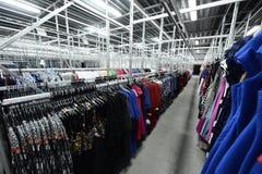 衣物工厂 免版税图库摄影