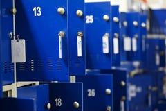 衣物柜在超级市场 免版税库存图片