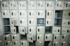衣物柜 库存图片