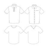 衣物概念传染媒介 免版税库存照片