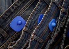 衣物的RFID坚硬标记 免版税库存图片