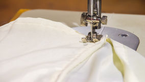 衣物缝纫机和项目  库存图片
