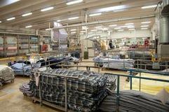 衣物虚拟女性行业于存储纺织品妇女 库存图片